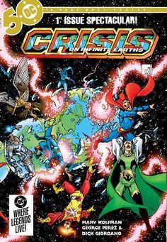 Crisis on Infinite Earths #1 - 12 Free Download – GetComics