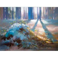 439 отметок «Нравится», 17 комментариев — Olga Abramova (@olga_abramova_art) в Instagram: «Северное солнце 50х65 Бумага, пастель Northern sun Pastel on paper #pastelpainting #artpastel…»