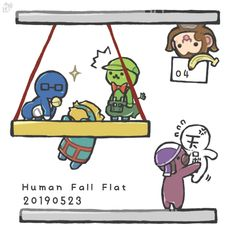 Human Fall Flat, Fall Flats, Balls, Anime Art, Twitter, Mini, Art Of Animation