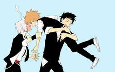 Gokudera, Tsuna and Yamamoto  #khr