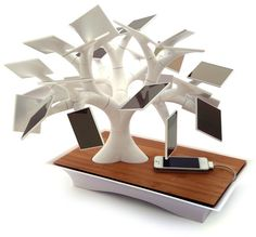 Electree charging station by Vivien Muller