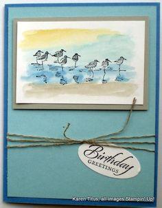 Wetlands: Make cards for Nature Lovers & Men! | KarenTitus.com