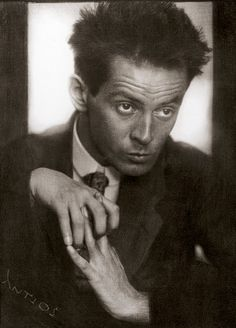 Josef Anton Trčka   Egon Schiele (1890-1918)  was a major figurative painter of the early 20th century. His work is noted for its intensity, and the many self-portraits the artist produced. The twisted body shapes and the expressive line that characterize Schiele's paintings and drawings mark the artist as an early exponent of Expressionism.