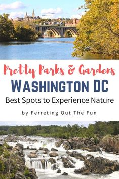 Experience nature at some of the prettiest parks and gardens in Washington DC, Virginia, and Maryland // #USA #traveltips