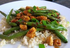 Mary Ellen's Cooking Creations: Chinese Green Beans with Pork