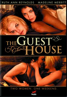 THE GUEST HOUSE - This year's guiltiest pleasure for lesbian movie lovers everywhere!  Blue-eyed blond bad girl Rachel (gorgeous new lesbian heart-throb Ruth Reynolds) is mature for her eighteen years. An aspiring songwriter, she's given up on her music after the recent death of her mother.  The arrival of Dad's new employee Amy (the lovely Madeline Merritt)— staying in their swanky Los Angeles guest house for the weekend — brings Rachel the inspiration she needs