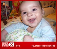 Sweet 7-month-old Maksio was diagnosed with ALL, and he needs a bone marrow transplant. Unfortunately, nobody from his family is a matching donor.  Become a lifesaver: CLICK to register today!