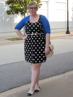 DIY FATSHION: 6x30: POLKA DOTS SAVE THE DAY