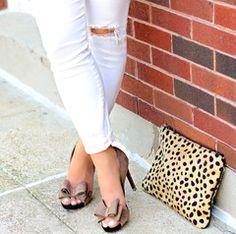 Leopard Flat Clutch #JessLeaBoutique