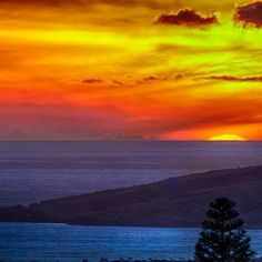 Que espetáculo natural! Conheça o Havaí meu povo! Todos de bem merecem ver esse por-do-sol em Maui! #viator #turismo