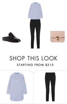 """""""Untitled #182"""" by danielfashion ❤ liked on Polyvore featuring M.i.h Jeans, Theory and Robert Clergerie"""