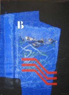 L'herbe bleue door James Coignard - Te huur/te koop via Kunsthuizen.nl #art #abstract #mixedmedia #jamescoignard #kunst #kunsthuizen #kunstuitleen
