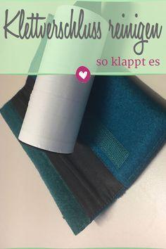 Wir zeigen, wie man einen Klettverschluss ganz leicht reinigen kann. #modetipp