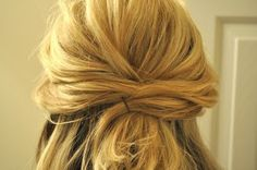 hair up tutorial