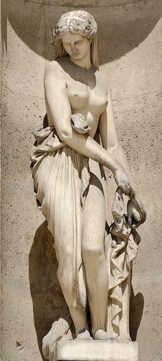 Скульптурная декорация фасадов Лувра