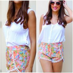 ***FLASH SALE*** Floral Pom Pom Shorts $20 shipped Quantity: 1x [Small/Medium/Large] Ships by Friday  To BUY: Comment with your email address. A secure PayPal checkout link will be emailed to you.  #pompomshorts #shorts #cute #girly #floral #floralshort #pink #coral #me #smile #amazing #follow #like #love #wiw #outfit #ootd #bestoftheday #bloggerstyle #style #stylish  #tagforlikes #fashion #igshop #sale #freeshipping #instasale #instagramsale #shop