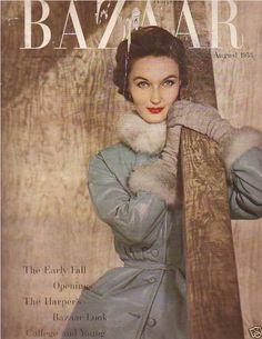 Harper's Bazaar cover, August 1953.