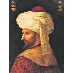 Rare portrait of Mehmed II the Conqueror, Sultan of Ottoman Empire, to be auctioned Empire Wallpaper, Ottoman Empire, Historical Fiction, 16th Century, Wwi, Mona Lisa, Auction, Portrait, Twitter