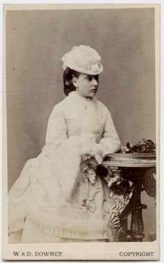 Pss Beatrice of england, later Pss Henry Battenberg.