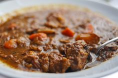 Moroccan Elk Stew recipe from Food Republic. Ingredients: 4 pounds elk shoulder or haunch, cut into cubes, cup all-purpose flours, 4 tablespoons grape seed oil or butter, 1 t. Elk Stew Recipe, Elk Recipes, Game Recipes, Venison Recipes, Yummy Recipes, Venison Stew, Soups And Stews, Have Time, Food For Thought