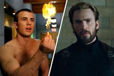 Are you Team Cap or Team Human Torch? Marvel Actors, Marvel Movies, Shakespeare In Love, Hurt Locker, The Imitation Game, Star Trek Into Darkness, Human Torch, Williams James, Nick Fury