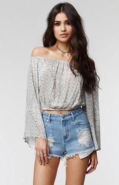 Kendall & Kylie Boxy Embroidered Pocket Shorts. #kandk4pacsun #pacsun