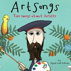 Art Songs: Ten Songs About Artists: Agnes Herrmann, Aubrey Beardsley Middle School Art, Art School, Programme D'art, Art Books For Kids, Artists For Kids, Classe D'art, Frida Art, Art Lessons Elementary, Elementary Art Education