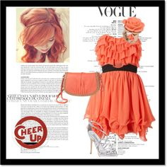 """cheer up outfit"" by htorgler on Polyvore"