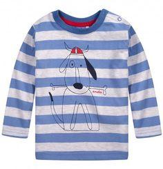 Ubranka dla niemowlaka: http://endo.pl/dla-niemowlaka Endo ubranka dla dzieci  T-shirt w paski dla niemowlaka N52G024_1