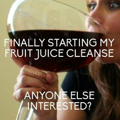 Start now...oh wait I think I've been on this cleanse for a while ;-)