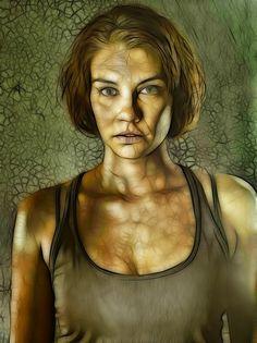 The Walking Dead: Maggie: Fractalius Re-Edit by ~nerdboy69 on deviantART