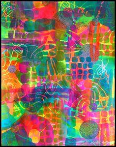 StencilGirl Talk: Art Journaling with May StencilClub Stencils