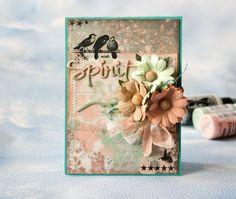 Скрапбукинг авторские открытки