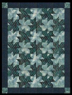 pinwheel quilt pattern tessellation | Tessellating Flower