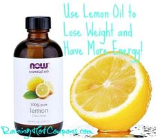 Lemon Oil to Lose Weight and Feel Better (Perfect New Years Resolution!)