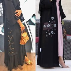 Modest Wear, Abaya Fashion, Abayas, Niqab, Sim, Coloring Books, Food And Drink, Embroidery, Casual