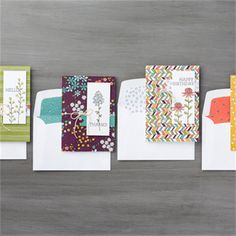 Featuring our Wildflower Specialty Designer Paper!
