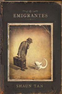 Álbum ilustrado. La historia de una emigración contada a través de imágenes sin palabras. Espectacular e íntimo.