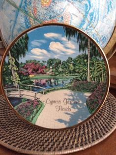 Cypress Gardens in Florida Cypress Gardens, Old Florida, Oldies But Goodies, Vintage World Maps, Unique Jewelry, Handmade Gifts, Gold, Etsy, Kid Craft Gifts