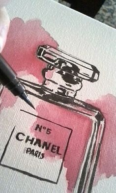 #chaneln°5 #ART #aquarell