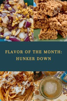 Flavor of the Month Summary: Hunker Down - By the Pounds Sausage Spaghetti, Jollof Rice, Cereal Treats, Star Food, Spanish Rice, Great Desserts, Chocolate Pudding, New Flavour, Taco Seasoning