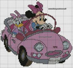 Minnie & Daisy in car 1 of 2