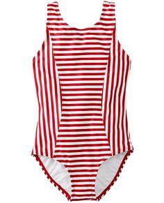 Girls Kids Swimwear One Piece Girls Beachwear Gray Striped Cotton Linen Swimming Suit Buy Kids Bikini Beachwear,Bikinis Unique Design Swimwear And