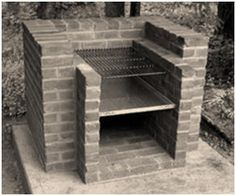 Free, DIY Brick Barbecue Building Guide - Build this traditional brick barbecue in your backyard with the help of a free, step-by-step guide by Matt Weber at ExtremeHowTo.com