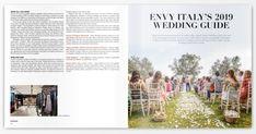 Envy Italy Magazine's 2019 Wedding Guide Destination Wedding Locations, Wedding Venues, Italian Wedding Traditions, Italy Magazine, Italy Wedding, Wedding Season, Spring Wedding, Tuscany, Envy