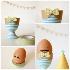 easter egg moustaches