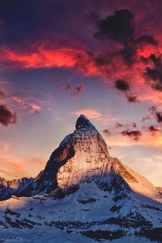 The Matterhorn, Switzerland.