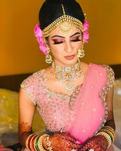 Every bride wants to be most beautiful on her wedding day. If you also want to be glamorous and beautiful on your special day then Gold n Blush is Best Bridal Makeup Artists in Udaipur. For other information you just call on Bridal Makeup For Brown Eyes, Best Bridal Makeup, Wedding Makeup, Indian Wedding Planning, Wedding Planning Websites, South Indian Bride, Indian Bridal, Wedding Hairstyles, Cool Hairstyles