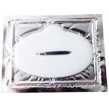 1 x Pack New Crystal White Powder Gel Collagen Lip Mask Masks Sheet Patch, Anti Ageing Aging, Remove Lines, Dry Lips, Skincare, Anti Wrinkle, Moisturising, Moisture, Hydrating, Uplifting, Whitening, Remove Blemishes. Firmer, Smoother, Tone, Regeneration Of Skin, Fuller Lips, Gloss Look. Suitable For Home Use Hot or Cold. by Infinitive Beauty- Crystal White Collagen Lip Mask. $5.19. White Collagen Lip Mask/ Patches (1 Pack= 1 Lip Mask). Whitens Dark Areas, Removes Dead Sk...