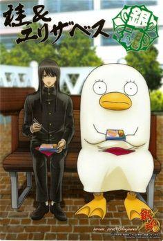 Gintama ~~ Gakuen :: Katsura & Elizabeth
